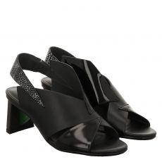 United Nude Glattleder-Sandalette in schwarz für Damen