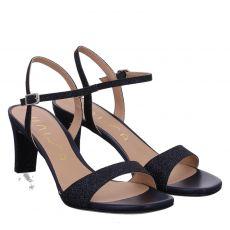 Unisa Textil-Sandalette in blau für Damen