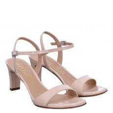 Unisa Lackleder-Sandalette in beige für Damen