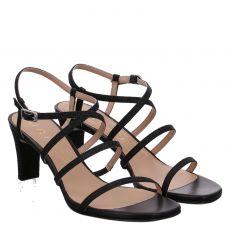 Unisa Textil-Sandalette in schwarz für Damen