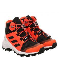 Adidas, Terrex Mid Gtx K, Textil-Halbschuh in schwarz für Jungen