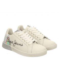 Pepe Jeans, Bromton Mania, Sneaker in weiß für Damen