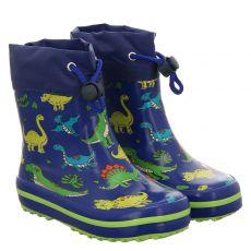 Beck, Mini Dino, Regenstiefel in blau für Jungen