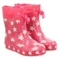 Beck, Sternenzauber, Regenstiefel in pink für Mädchen