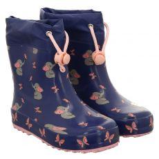 Beck, Mini Fant, Regenstiefel in blau für Mädchen