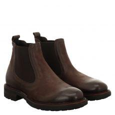 Fernando Strappa, Jack, eleganter Glattleder-Stiefel in braun für Herren