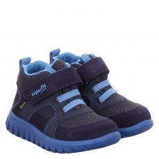 Superfit Veloursleder-Halbschuh in blau für Jungen