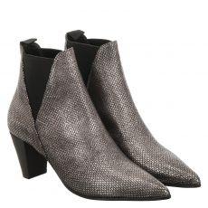 Vic Matié kurzer Glattleder-Stiefel in schwarz für Damen