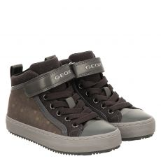 Geox Kunstleder-Halbschuh in grau für Mädchen