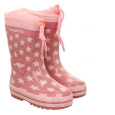 Kangaroos, K-rain, Regenstiefel in rosé für Mädchen