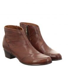 Fernando Strappa kurzer Glattleder-Stiefel in braun für Damen