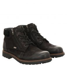 Sailer, Pisco, sportiver Glattleder-Stiefel in schwarz für Herren