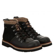 Lloyd, Vanwell, sportiver Glattleder-Stiefel in schwarz für Herren