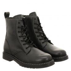 Sailer sportiver Glattleder-Stiefel in schwarz für Herren