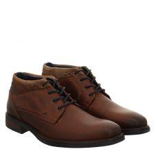 Sailer eleganter Glattleder-Stiefel in braun für Herren