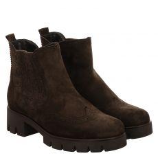 Gabor kurzer Veloursleder-Stiefel in braun für Damen