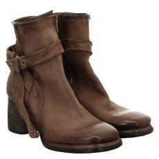 As 98 (airstep), Diza, kurzer Veloursleder-Stiefel in grau für Damen