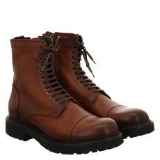 Noclaim sportiver Glattleder-Stiefel in braun für Herren