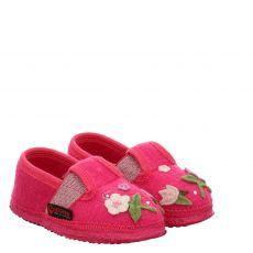 Giesswein, Tröbitz, Textil-Hausschuh in pink für Mädchen
