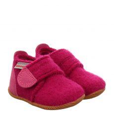 Giesswein, Oberstaufen, Textil-Hausschuh in pink für Mädchen