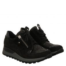 Waldläufer, Hiroko- Soft, Sneaker in schwarz für Damen