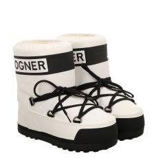 Bogner, Trois Vallees, warmer Sonstige-Stiefel in weiß für Damen