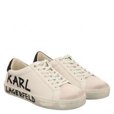 Karl Lagerfeld, Skool Brush, Sneaker in weiß für Damen