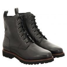 Sioux, Meredith 720, kurzer Glattleder-Stiefel in schwarz für Damen