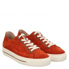 Paul Green, 0067-4704-347/pauls, Sneaker in rot für Damen