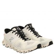 On, Cloud X, Textil-Sportschuh in weiß für Herren
