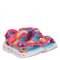 Skechers Textil-Sandale in mehrfarbig für Mädchen