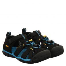 Keen, Seacamp Ii Cnx, High-Tech-Sandale in schwarz für Jungen