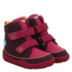 Affenzahn, Schuh Vogel, Moonboots in pink für Mädchen