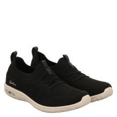Skechers, Arch Fit Flex, Slipper in schwarz für Damen