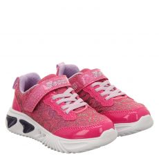 Geox, Rot, Textil-Halbschuh in pink für Mädchen