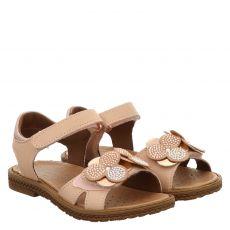 Schuhengel, Amelia, Nubukleder-Sandale in rosé für Mädchen