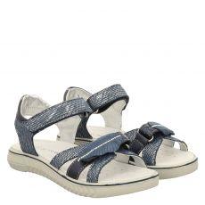 Schuhengel, Aurora, Textil-Sandale in blau für Mädchen