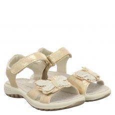 Schuhengel, Angel, Kunstleder-Sandale in gold für Mädchen