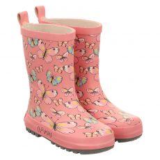 Maximo, Rot, Regenstiefel in rosé für Mädchen