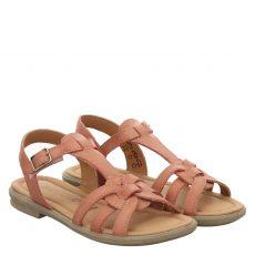 Ricosta, Birte, Glattleder-Sandale in rosé für Mädchen
