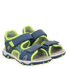 Superfit Textil-Sandale in blau für Jungen