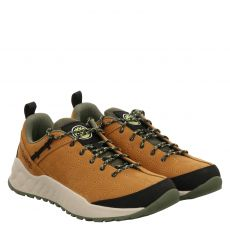 Timberland, Solar Wave Low Leather, sportiver Nubukleder-Schnürer in braun für Herren