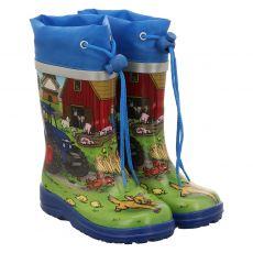 Beck, Bauernhof, Regenstiefel in mehrfarbig für Jungen