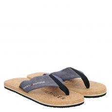 Tommy Hilfiger, Felipe 7d, Textil-Sandale in blau für Herren