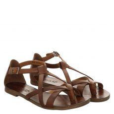 Sailer Glattleder-Sandalette in braun für Damen