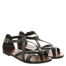 Sailer Glattleder-Sandalette in schwarz für Damen
