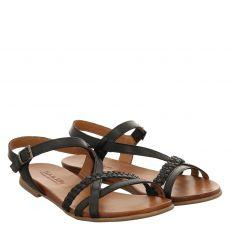 Sailer, Almira, Glattleder-Sandalette in schwarz für Damen