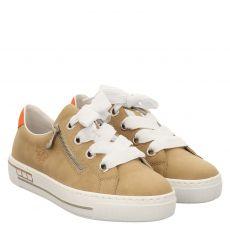 Rieker, Braun, Sneaker in beige für Damen