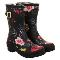 Joules Regenstiefel in schwarz für Damen