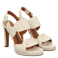 Roberto Festa Glattleder-Sandalette in beige für Damen